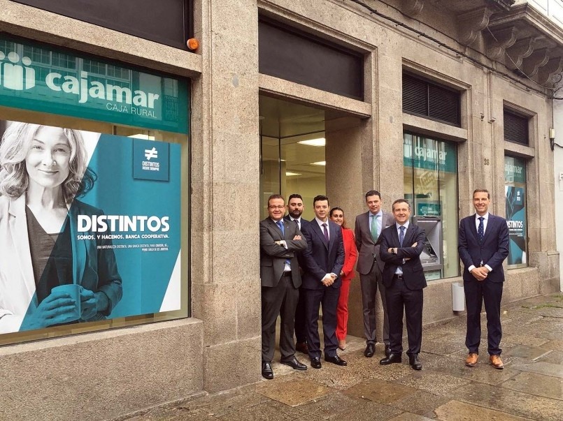Below image of the opening of the new branch in Santiago de Compostela (A Coruña) in May 2019