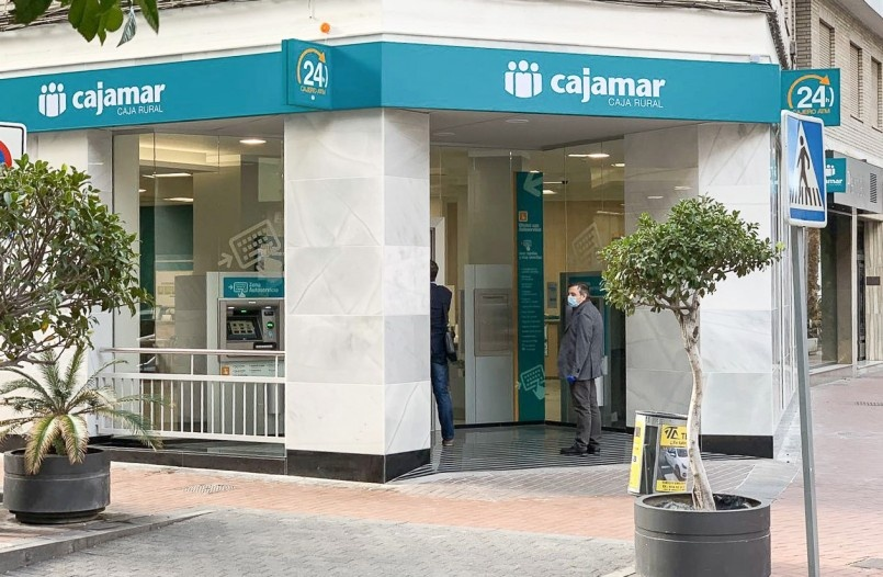 Cajamar branch in Motril (Granada)